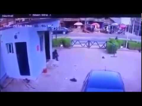 Watch Live CCTV footage of Offa bank robbery 2018