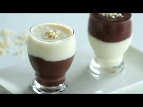 Video Vanilla and Chocolate Pudding Recipe