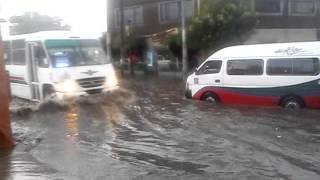 preview picture of video 'Inundación en Santa Clara, Estado de México'