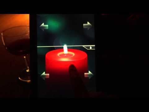 Video of Romantic Candle