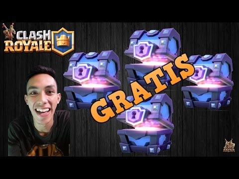 Video tips mudah mendapat super magical chest gratis dari clash royale [100 % AMPUH].