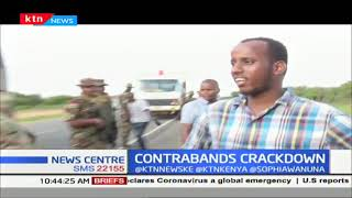 Bus ferrying contraband\'s intercepted along the Garissa - Thika Highway