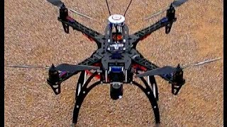 Reptile Aphid x450 quadcopter FPV maiden! :)