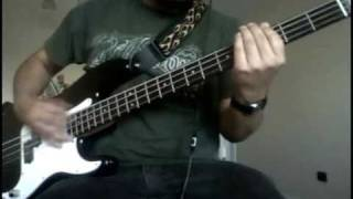 Arctic Monkeys - Wavin' Bye To The Train Or The Bus (Bass Cover)