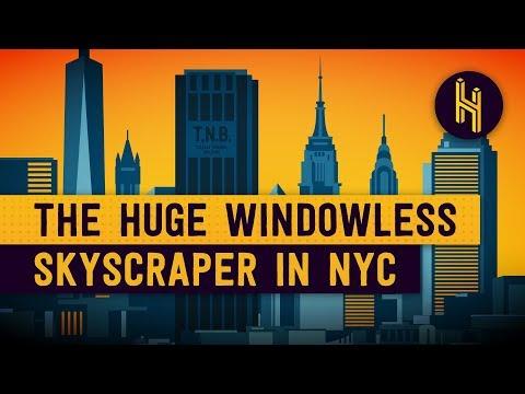 The Secret Behind the Huge, Windowless Skyscraper in NYC