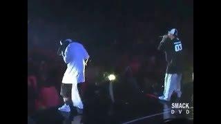 50Cent & Eminem performing 'Hail Mary' | Ja Rule diss