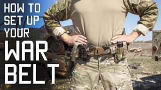 How To Set Up Your WAR BELT | DUTY BELT | SF Assaulter Gear | Tactical Rifleman