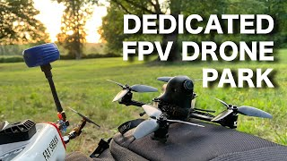 Our new FPV drone park is AMAZING!