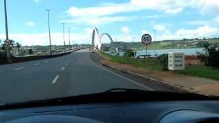 preview picture of video 'Travessia da Ponte JK  Lago Paranoá Brasília DF'