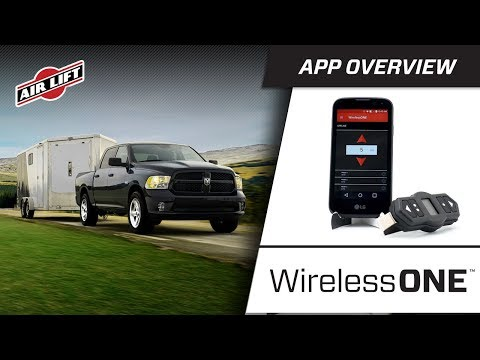 WirelessONE with EZ Mount | Air Lift Company - Tow and Haul with