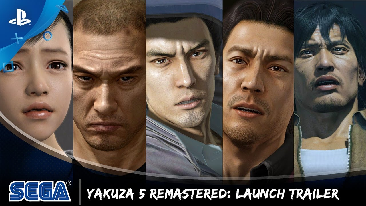 The Yakuza Remastered Collection is Available Today
