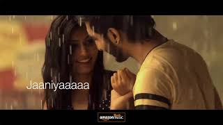 Dholna- Lyrical video (tere bin nahi lagda dil mera   - YouTube