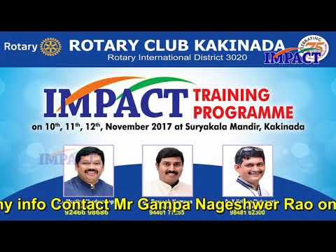 Challenges | Sai Prasad | TELUGU IMPACT Kakinada 2017