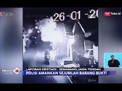 Polisi Temukan Rekaman CCTV Aksi Teror Pembakaran Motor di Semarang - iNews Siang 02/02