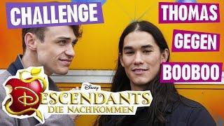 DESCENDANTS Challenge - Thomas gegen Booboo | Disney Channel