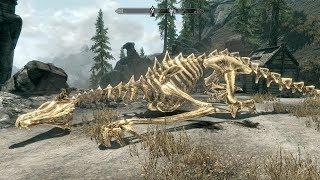 The Elder Scrolls V: Skyrim. Вершина Северный Ветер: убить дракона. Прохождение от SAFa