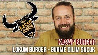 Kasap Burger / Lokum Burger - Gurme Dilim Sucuk - Patates Kızar. - Paket Servis İnceleme ve Yorumlar - Video Youtube