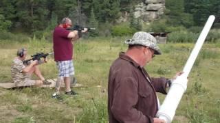 Joe Stocker, Kyle Parr,  Paul Herndon On The Rifle Range  - Fox 2/12 Marine Corps Reunion 2016