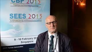Prof. Giulio Vidotto at CBP Conference 2015 by GSTF