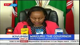 Kirinyaga governor-elect, Ann waiguru to take oath of office