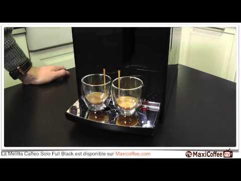 Melitta Caffeo Solo E950-222    Machine à café automatique   Le Test MaxiCoffee