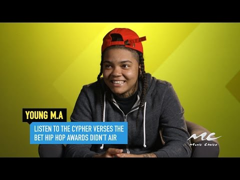 Young M.A's Cypher Lines the BET Hip Hop Awards Didn't Air