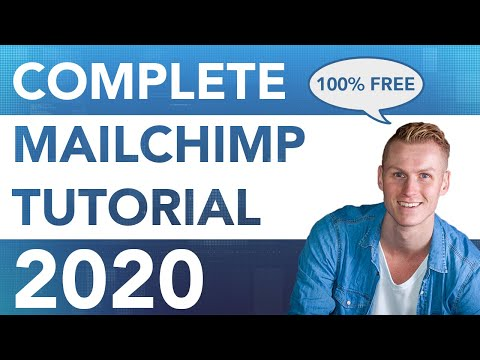Mailchimp Tutorial 2020   For Beginners - YouTube
