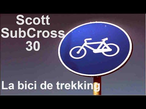BICICLETA DE TREKKING SCOTT SUB CROSS 30