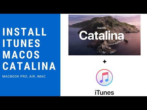 How to install iTunes on macOS Catalina