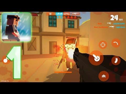 Fan of Guns - Gameplay Walkthrough Part 1