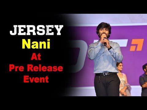 Nani at Jersey Movie Pre Release Event