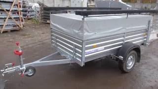 Откидной стапель для перевозки лодки ПВХ. Тент и стапель отдельно. МЗСА 817701.004-05. ЦЛП АРИВА