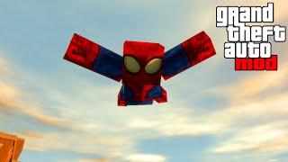 """SPIDERMAN MINECRAFT MOD"" GTA PC Modding & Gameplay (GTA IV Modding)"