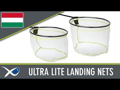 Matrix Matrix Ultra Lite Landing Net - merítőfej (több méretben) videó