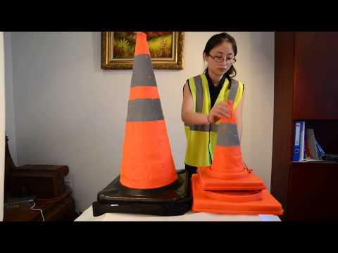 Conos Naranja de Seguridad Vial
