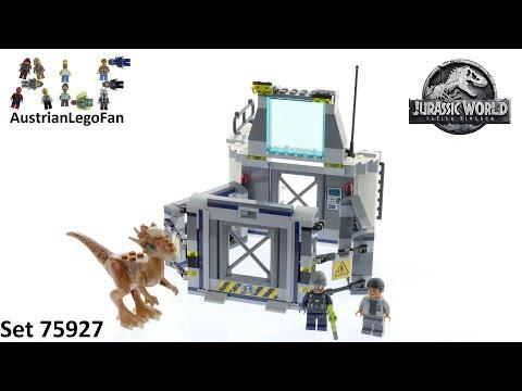 Vidéo LEGO Jurassic World 75927 : L'évasion du Stygimoloch