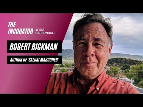 SIU Author, Robert Rickman seeks community input for new novel.