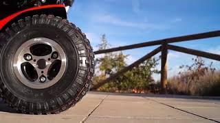 Silla de ruedas eléctrica Extreme X8 4 x 4 Todo Terreno Ortopedia López