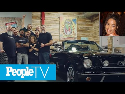 Jason Momoa Restores Wife Lisa Bonet's First Car, 1965 Mustang: '14 Years In The Making' | PeopleTV
