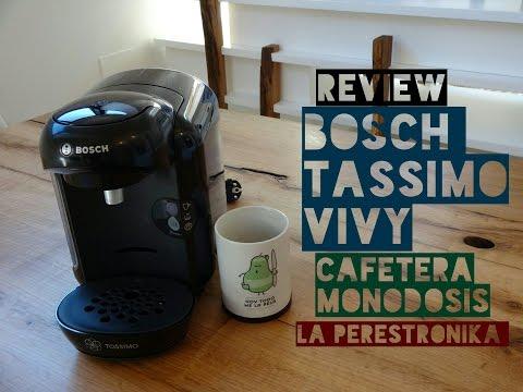Review Cafetera Bosch Tassimo Vivy. La cafetera monodosis con mejor relación calidad-precio