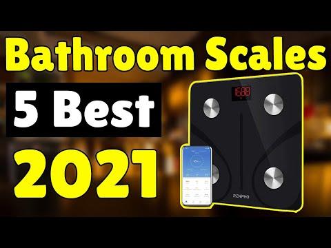 Best Bathroom Scales in 2021 -  Top 5 [Best Bathroom Scale] Picks - iStyle
