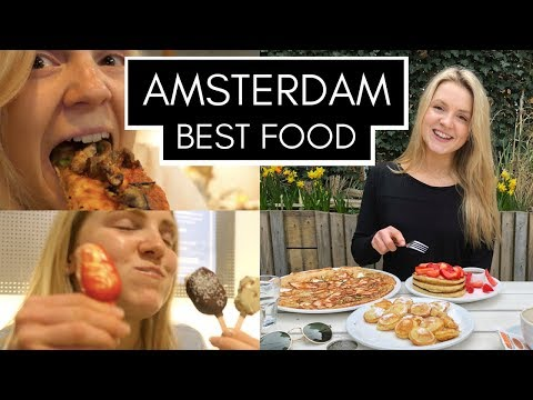 BEST AMSTERDAM FOOD | Top 5 Restaurants | Healthy & Unhealthy | Steak, Vegan, Pancakes, Poffertjes