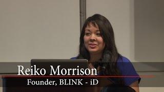 Reiko Morrison Founder BLINK-iD