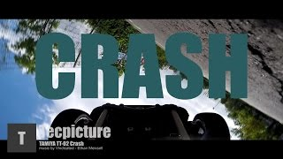TAMIYA TT 02 CRASH GOPRO ONBOARD FPV RACETRACK