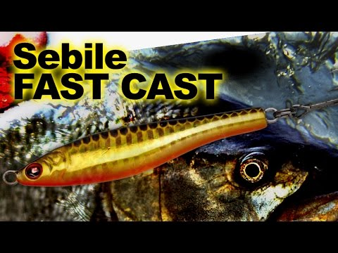 Sebile Fast Cast 72mm videó