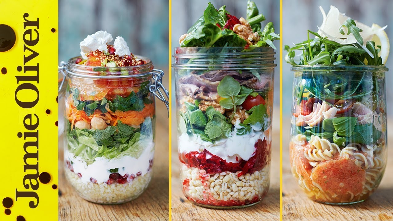 Picnic recipes jamie oliver healthy jam jar salads forumfinder Image collections