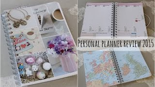 Personal Planner Unboxing/Review 2015