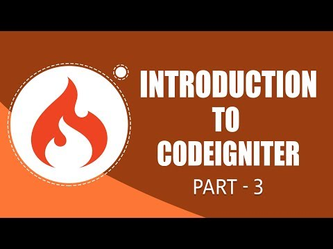CodeIgniter Framework | CRUD Functionality | Part 3 | Eduonix