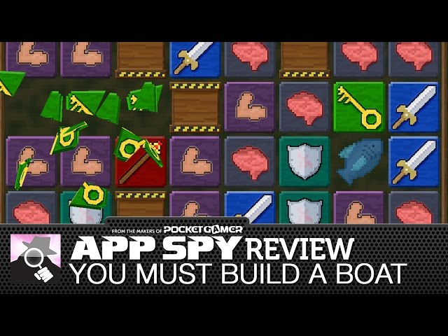 You Must Build A Boat iOS iPhone / iPad Gameplay Review