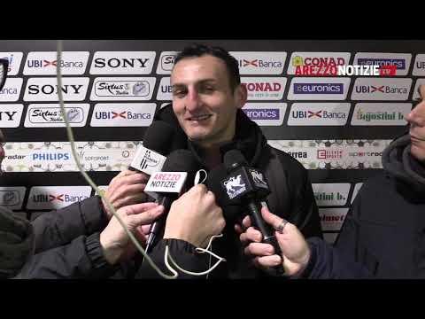 Arezzo-Pianese 0-0, intervista a mister Masi